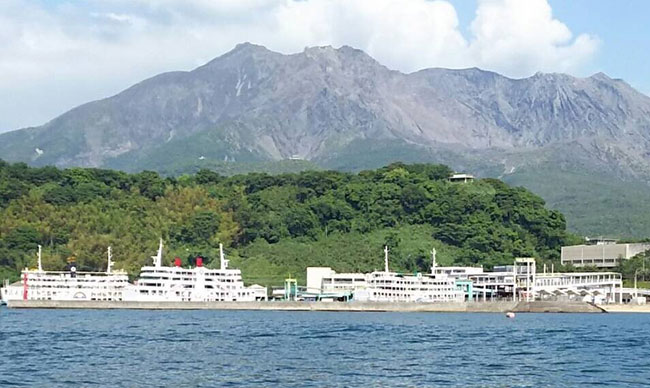 桜島フェリーターミナル桜島港