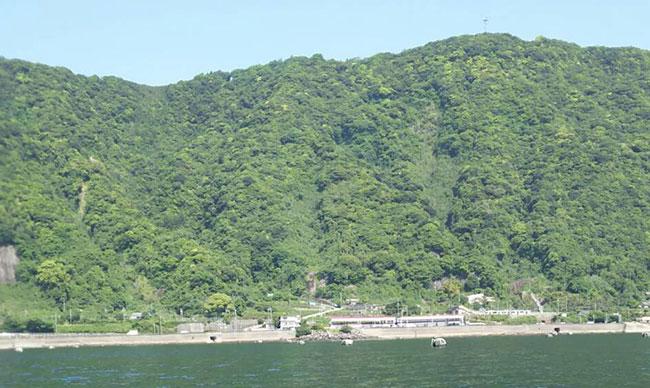 竜ヶ水(姶良カルデラ壁)