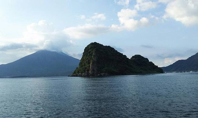 江ノ島と桜島